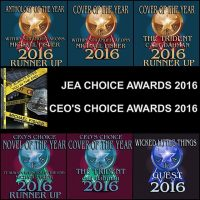 I won multiple awards for my cover design work as well as runner up CEO's Choice Best Novel of the Year and runner up Best Anthology of the Year for JEA Choice Awards #horrorwriter #awards #warmfuzzies #noveloftheyear #antholgyoftheyear #coverdesign
