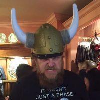 Do these horns make my beard look big?