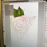 Getting used to some new-to-me tech to create art #firstgraphicstablet