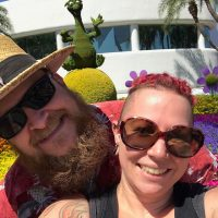 @azxure  and I are celebrating our 17 anniversary at Epcot Flower & Garden Festival for the first half of the day. Relaxing at our room at the @hyattregencygrandcypress for now. Perhaps a nap is in the works followed by an evening elsewhere.