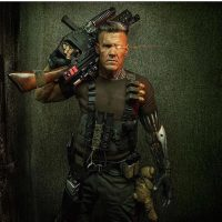 He's no Stephen Lang but damn if Josh Brolin doesn't make a bad ass Cable. And yes, this is official. #XMen #XFan #Cable #HellYeah